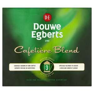 Douwe Cafetiere Blend Ground Coffee 2 X 250G - £1.38 (Usually £5,50) @ Tesco