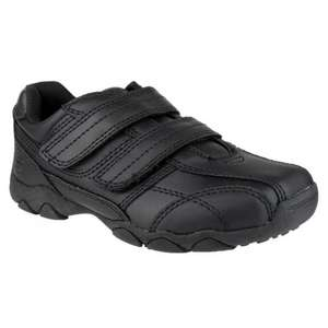 BARRATTS  Aidan Black Two Strap School Shoes £15.18 delivered.