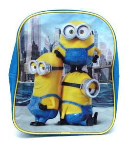 Minions Despicable Me Kids Backpack/ School Bag £3.65 Amazon / Dispatched from and sold by WEGOTITFROM.