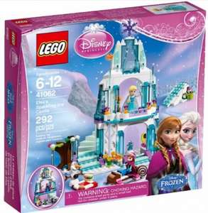 LEGO Disney Princess Frozen Elsa's Sparkling Castle 41062 £25.54 @ Tesco, Amazon & John Lewis (£2 C&C fee under £30 at JL)