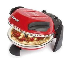 G3 Ferrari pizza oven (from Amazon Italy)  - stonebaked pizza in 7 minutes! £60 Price is approximate.