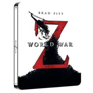 World War Z Steelbook 3D Blu-ray £12.35 @  Thats Entertainment
