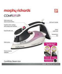 Morphy Richards 301020 Eco Comfigrip Steam Iron at Argos.co.uk - £32.49