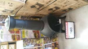 Metal chiminea b&q dover was £71 now £40