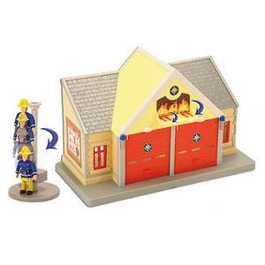 Fireman Sam Playsets with figures £8.00 @ Tesco Direct