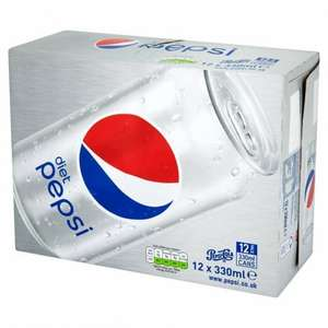 Diet Pepsi 12 x 330ml £3.00 @ Morrisons