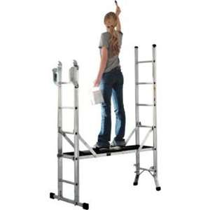 Abru Combination Ladder & Platform, 5 Way, 21055 £102 @ Tesco Direct