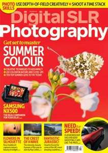 5 issues of Digital SLR Photography magazine for £5.00. Free USB 3.0 card reader @ Dennis publishing