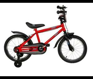 "Urban Racers 16"" Kids' Bike with Stabilisers £40 Free CnC  @ Tesco Direct"
