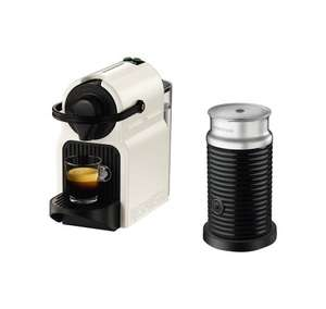 Nespresso Inissia Machine with Aeroccino3 by KRUPS, White (£79.99 with Code) @ Amazon