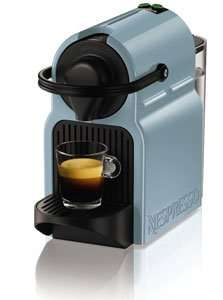 Nespresso inissia by KRUPS Coffee Capsule Machine - Blue + Capsule tasting gift £50 delivered @ Amazon (Using code)