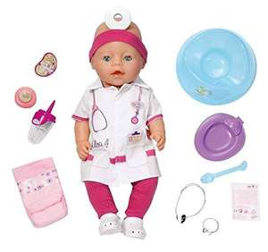baby born doctor interactive doll £12.99 @ home bargains