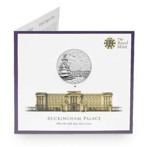£100 Buckingham Palace 2015 UK £100 Fine Silver Coin (Collectors item)