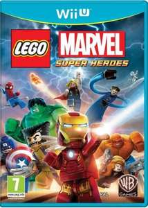 Lego Marvel Superheroes Wii U £10 @ Tesco