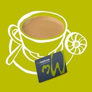 Free tea / coffee / capuccino everyday at little waitrose with mywaitrose card membership