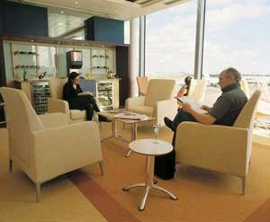 Potentially Free No1 lounge for 2 at BHX with champagne @ holidayextras