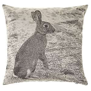 John Lewis Croft Collection Hare Cushion was  £30 now £15.00 @ John Lewis