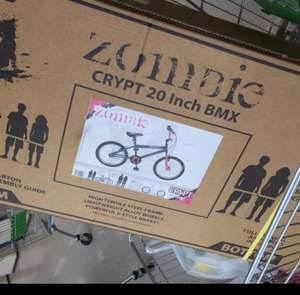 "Girls Zombie Crypt BMX 20"" bike £37.50 @ Asda (Leigh)"