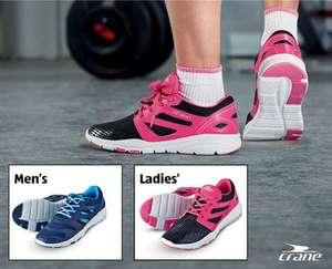 Crane Fitness Trainers for £11.99 @ ALDI - From Sunday 9th