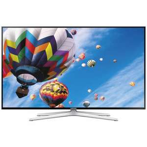 "Samsung UE50H6400 LED HD 1080p 3D Smart TV, 50"" with Freeview HD, Voice Control, Built-In Wi-Fi and 2x 3D Glasses £549.00 at John Lewis, with 5 year warranty."