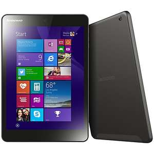 "Lenovo Miix 3 8 Tablet, Intel Atom, Windows 8.1 & Microsoft Office 365, 7.85"", Wi-Fi, 32GB, Black - £131.41 @ John Lewis"