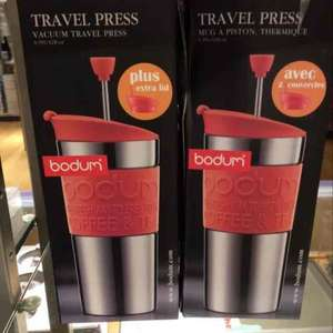 A DEAL IS BREWING WITH BODUM TRAVEL PRESS CUP+ EXTRA LID ONLY£10 @ JOHN LEWIS