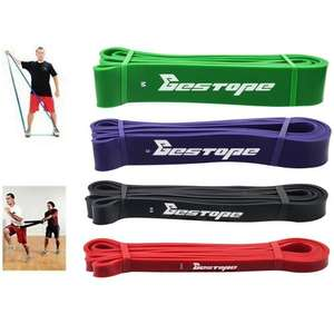 BESTOPE® 4 Piece Resistance Bands Exercise Bands Set for £29.99 AC Sold by BESTOPE UK and Fulfilled by Amazon
