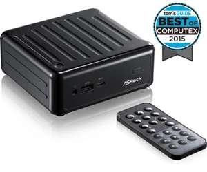 Asrock Beebox N3000 Barebones Mini-PC/NUC £114.47 delivered @ morecomputers.com