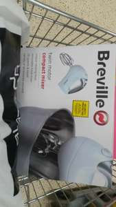 breville vfp026 twin motor stand mixer £17.50 @ Tesco instore