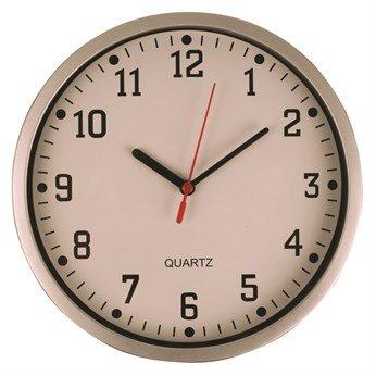 Silver clock £1.00 @ Poundworld