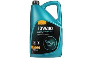 Halfords Engine Oil Half price @ £12.00