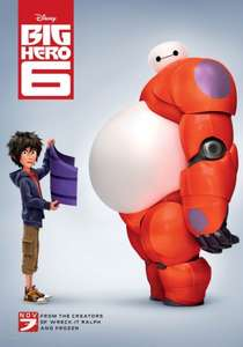 Big Hero 6 from 500 points @ Disney Movie Rewards