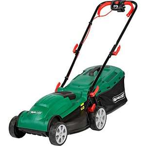 Qualcast 1400W Electric Rotary Lawn Mower - 34cm £46.66 @ Homebase