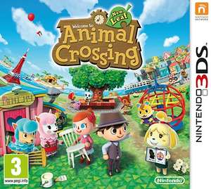 Animal Crossing New Leaf 3DS £19.99 in Sainsburys