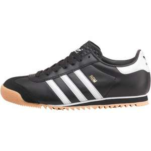 Adidas Originals Mens Rom Trainers Black/White/Gum £33.98 delivered @ MandM Direct