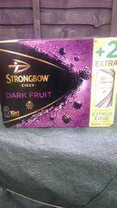 12 Strongbow Dark Fruit @ Asda - In store only £7