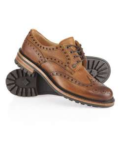 Superdry Premium Avon Brogues - Same as Cheaney Avon C £125 (£112,50 with Quidco) @ Superdry