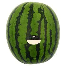 Giant watermelon for £ 2.50 at Asda