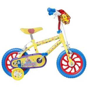 "Something Special Mr Tumble 12"" Kids' Bike with Stabilisers £20 @ Tesco Direct"