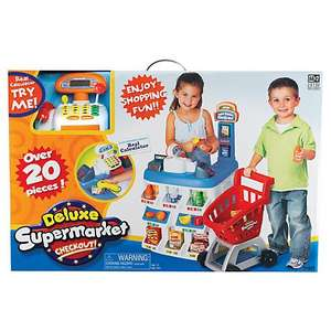 deluxe supermarket checkout kids toy was £75 now £18.75 (£3.50 Delivery or £2.00 Click & Collect) @ John Lewis