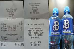BP Halesowen - Diesel for £1.06 per litre with Ballygowan water + Nectar Points