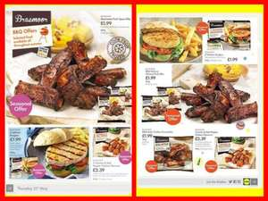 BRAEMOOR BBQ OFFERS: Including Chorizo and Red Pepper Chicken Skewers Half Price £1.19 at LIDL + MANY MORE