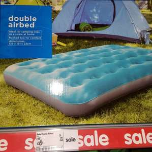 Double Air Bed £6 @ Asda in store