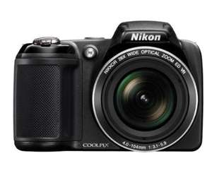 Nikon COOLPIX L320 Compact Digital Camera - Black (16.1MP, 26x Optical Zoom) 3 inch LCD £60.00 @ Sainsburys instore