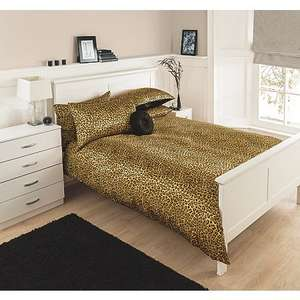 Satin Animal Print King Size Duvet Cover @ Asda Only £4.50 was £18 Instore Deal Only