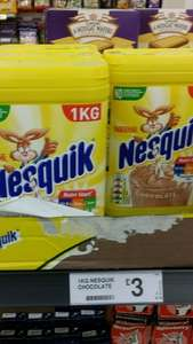 1kg Nesquik chocolate milkshake mix for £3.00 @ Farmfoods