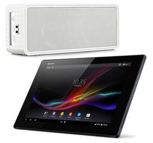"Sony Xperia  10.1"" 4G Tablet With Bluetooth speaker, cleaning kit, in car charger £124.99 @ ebay /  sps1999"