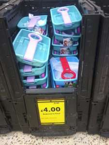 Disney Frozen Pull Along Wagon at Tesco today -  £4.00 for clearance!