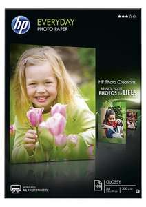 HP Glossy Photo Paper A4 x100 Sheets 200gsm £5.50 @ Clasohlson