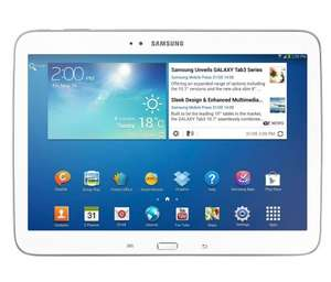 Samsung Galaxy Tab 3 10.1 Inch 16GB Wi-Fi Tablet (refurb) - White/Black - £119.99 - @ argos ebay outlet